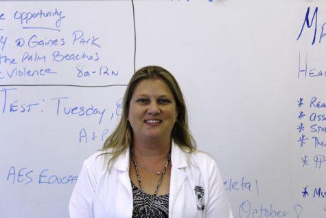 Go Canes: Nurse Blair represents