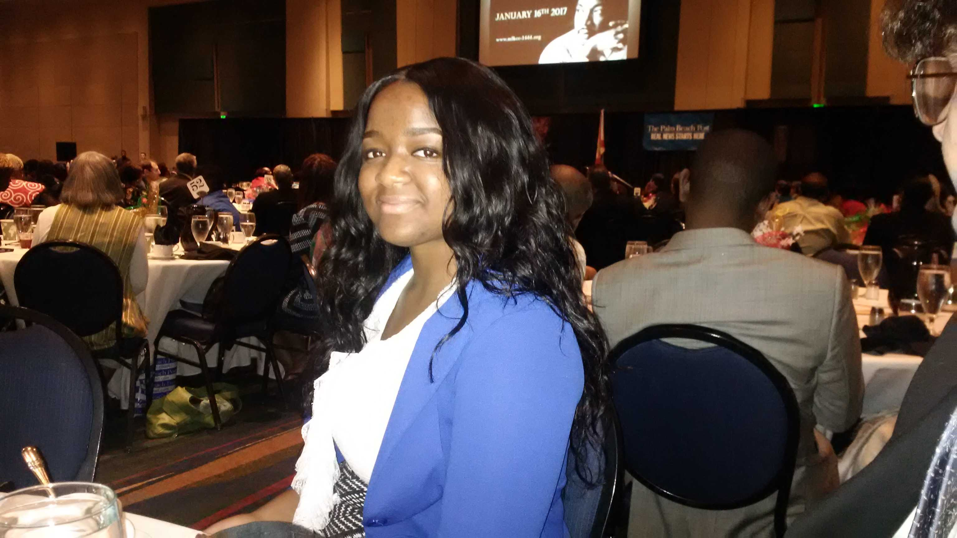 inlet grove news congrats to ruchama lafontant 2017 mlk essay defend the dream united the hurricanes ruchama lafontant a senior in