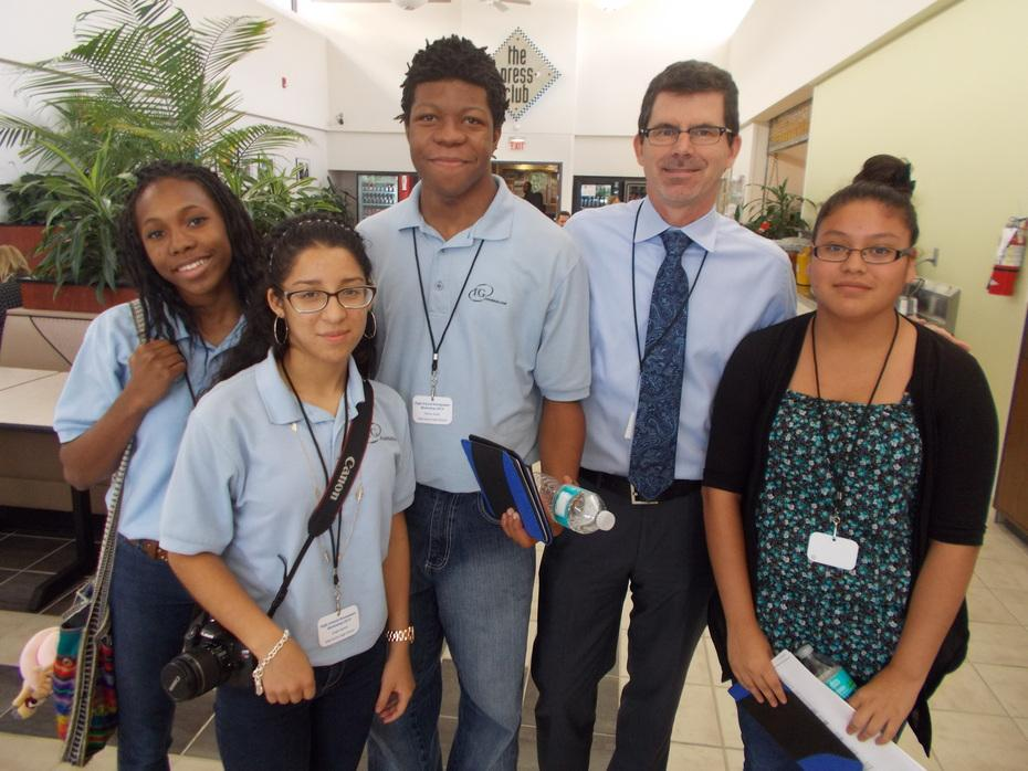 Hurricanes at the Palm Beach Post High School Journalism Workshop (Sep 30)