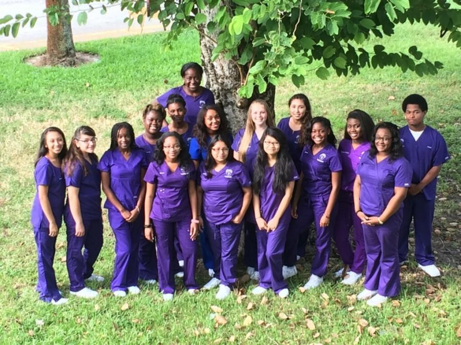 PROFESSIONALS ON THE WAY: Incoming LPN class / Class of 2017.