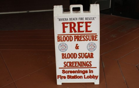 Health Screenings with Riviera Beach Fire Rescue