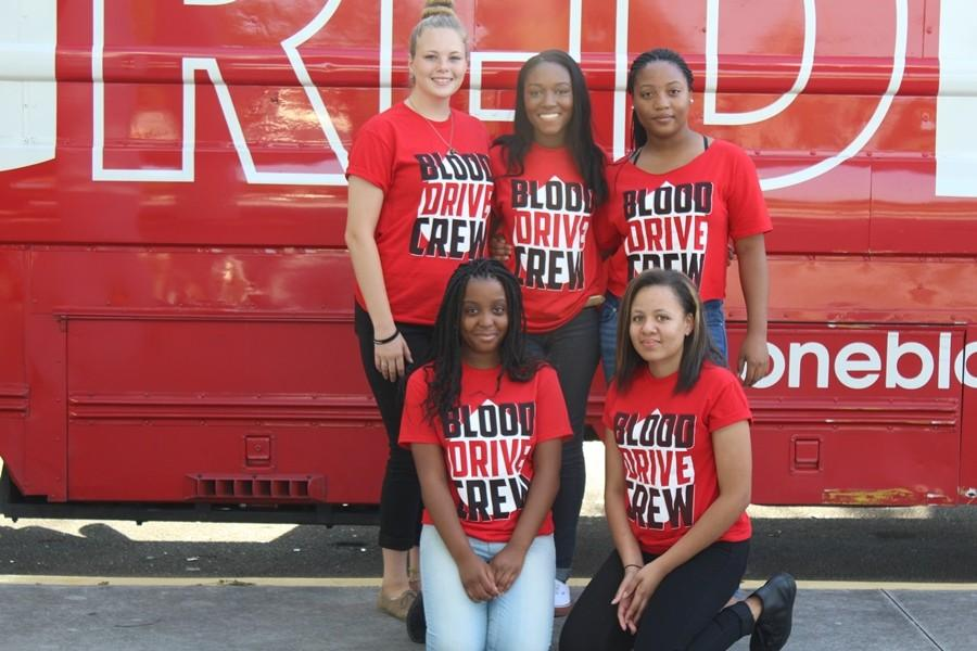 SEEING RED: The Blood Drive Crew.