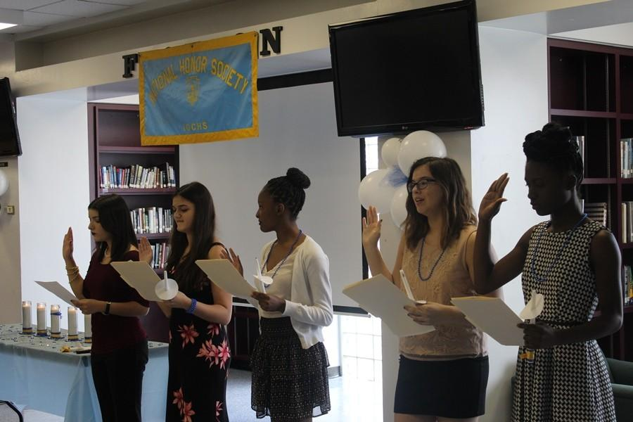 National Honor Society welcomes leaders