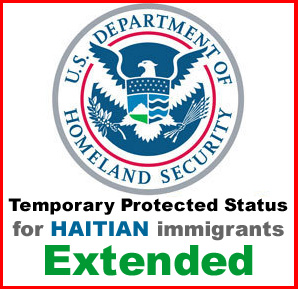 Haitian protected status extended