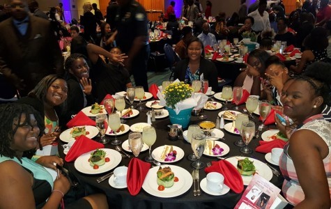 YOUTH EMPOWERMENT LUNCHEON: Hosted by the Urban League of Palm Beach County, and the Canes were there.