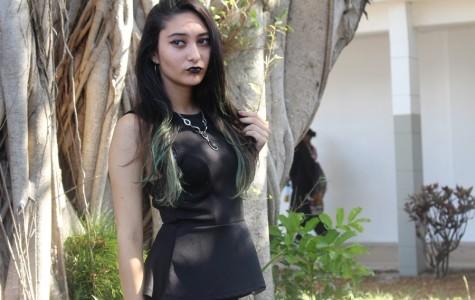 BLACK OUT DAY: Karen Hernandez represents.