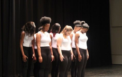 ANGELIC LADY CANES: They were among the talented students who treated their packed auditorium audience to dance, music and  rap battles before students left for Spring Break.