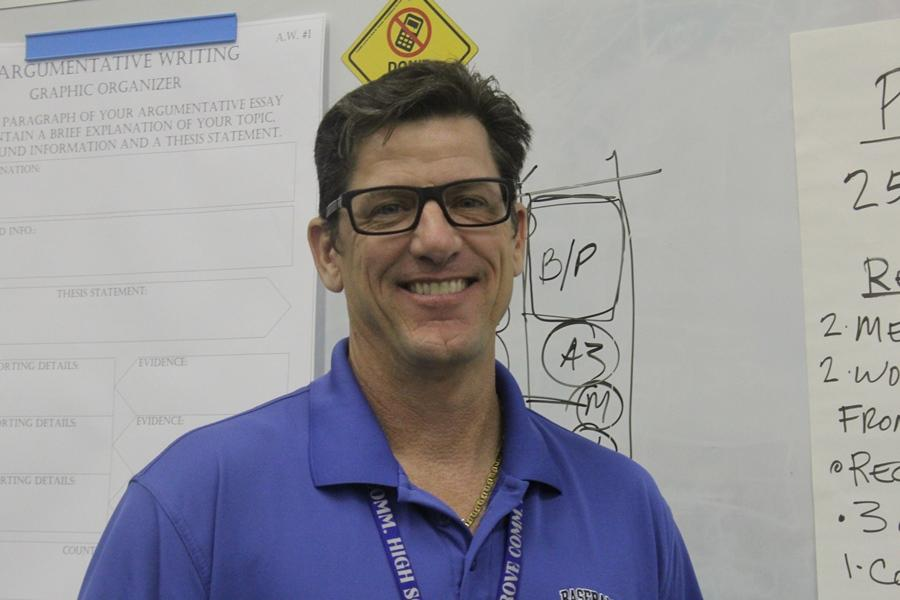 ALL AROUND PRO: Todd Morey, Inlet Grove's beloved Pre-Architecture and Pre-Engineering instructor, who was accomplished in his field before he began teaching it, is heading off to a great opportunity in the profession. One student spoke for many when she said, 'Breaks my heart' that he is leaving.