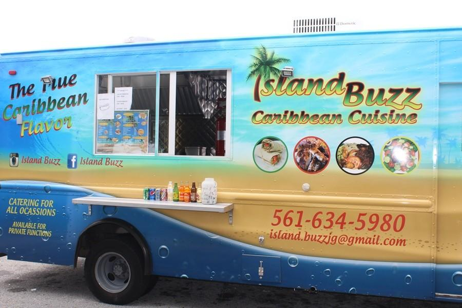 ISLAND VIBES: The food truck at Inlet Grove.