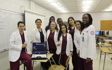 Healthcare and Science Stars of Tomorrow and the Canes are there today!