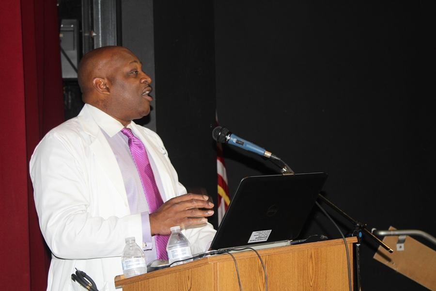 DR. ROGER L. DUNCAN III: The president of the T. Leroy Jefferson Medical Society welcomed students and medical professionals to the 4th annual Career Symposium.