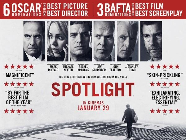 HARD HITTING JOURNALISM: The movie Spotlight won six Oscar nominations including best picture and director along with many other superlatives.