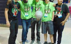 Robotics team against the world