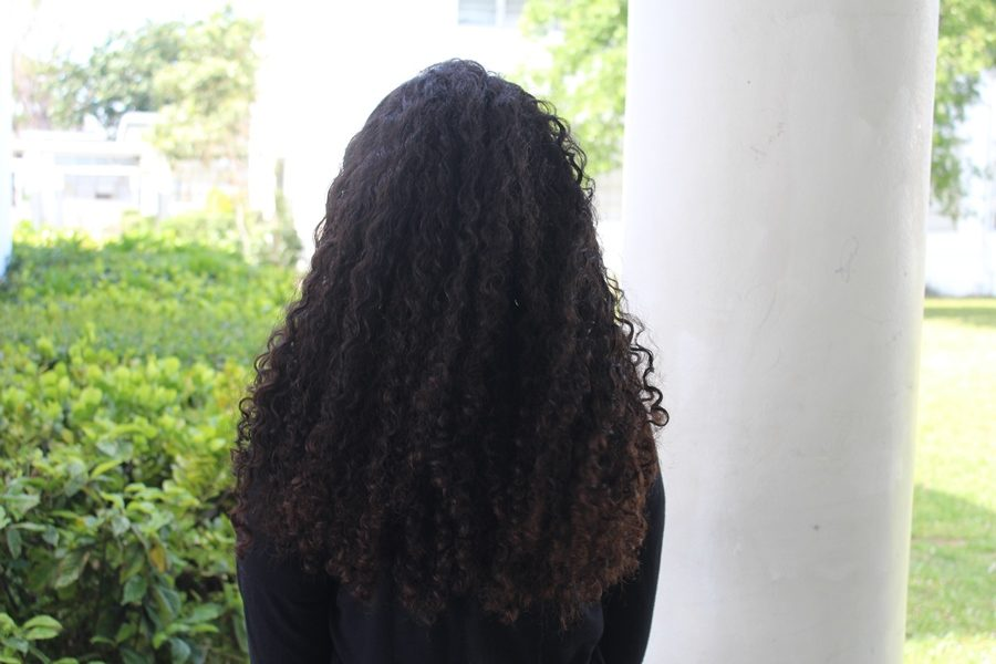 GUESSWHO: What a nice day to have curly hair.