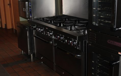 IN WITH THE NEW: Lowe's donated a brand new gas stove to the Culinary Academy.