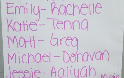 CAST LIST: Actors in the Drama Club's upcoming fall production.