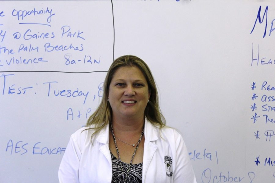 Nurse Rebecca Blair, Medical Academy instructor