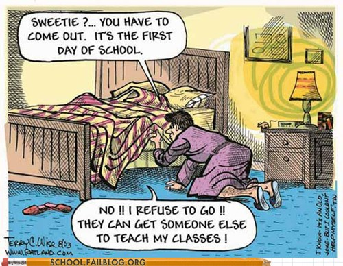 BACK TO SCHOOL :