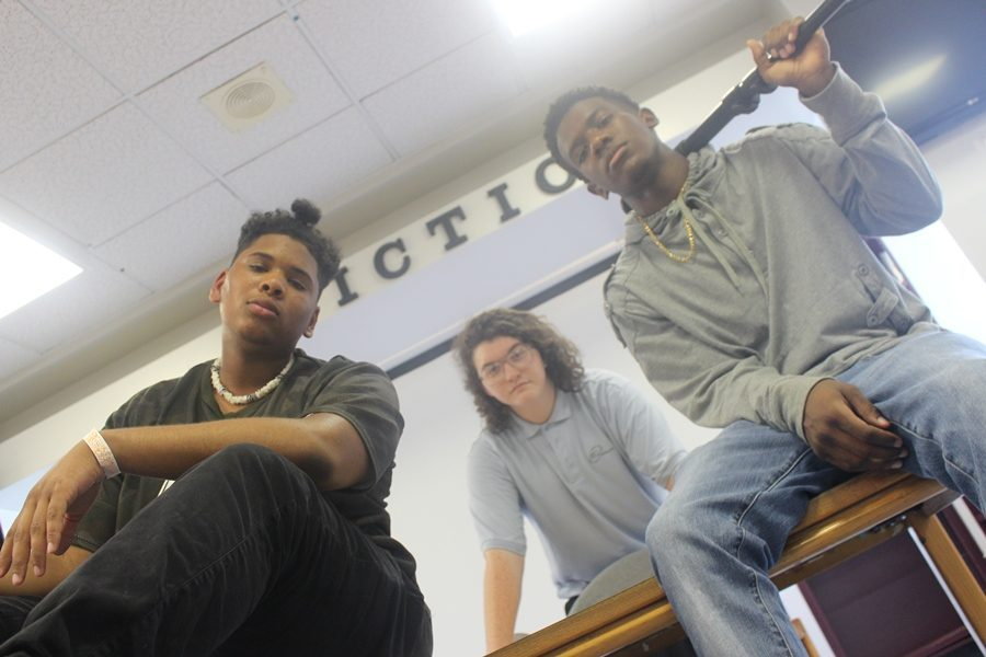 CANESTV CAST: From Left to right Johnny Romero, Dillion McClain, Dharma  Alcius bringing you the CANESTV Broadcast