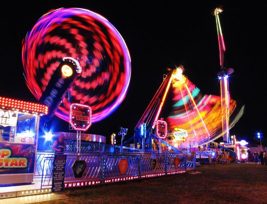A+NIGHT+TO+REMEMBER%3A+The+South+Florida+Fair+shines+bright+with+their+variety+of+food+stands+and+exciting+rides.