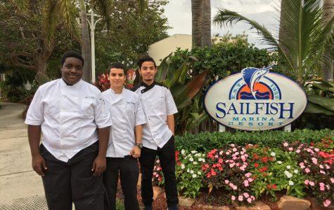 Culinary students intern at Sailfish
