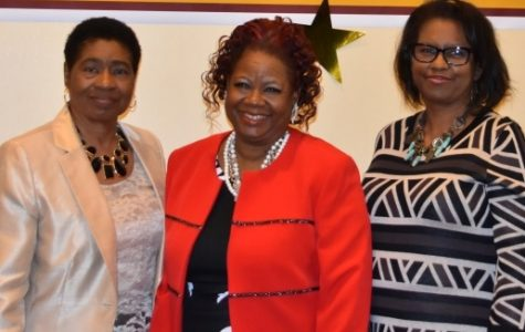 CELEBRATING THE BEST: Bethune-Cookman University Palm Beach County Alumni Chapter officers (from left) Eunice Twiggs, vice president and HBCU Luncheon chairperson; Sylvia Gibson, president; and Margaret Chukuma, treasurer.