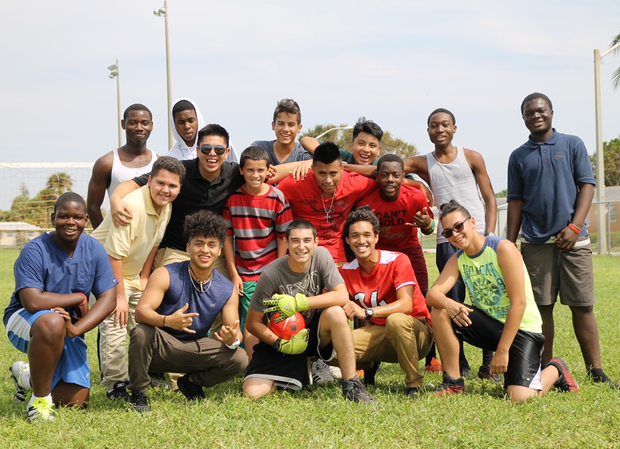 'THE IMMIGRANTS': That's what the boys soccer players call themselves. Both the boys and girls teams are having open gym after school on Tuesdays and Thursdays.