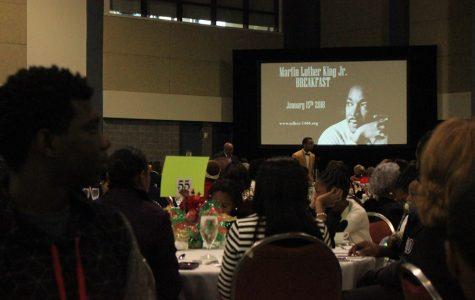 37th Annual MLK Breakfast scenes