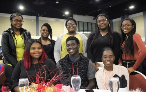 WINNING DAY: GroveWatch Editor-in Chief Brianna Luberisse earned 1st and 2nd place in the Photography competition, Ashley Alceme took 3rd in Essay, as the Hurricanes were inspired by local dignitaries during the 37th Annual Martin Luther King Jr. Scholarship Breakfast, Jan. 15 at the Palm Beach County Convention Center.
