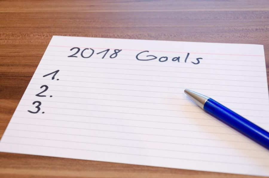 GOAL FOR 2018: Achieve goal from 2017.