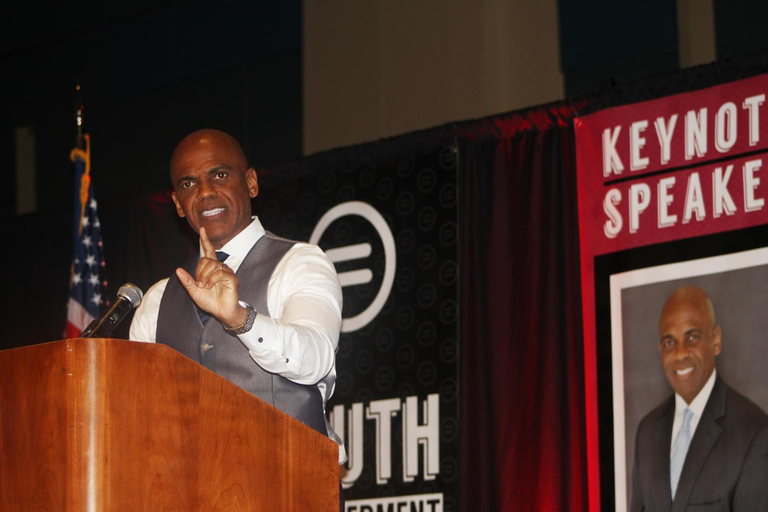 ERIC KELLY: The president of the Quantum Foundation was the keynote speaker for the 7th Annual Youth Empowerment Luncheon on Jan. 26.