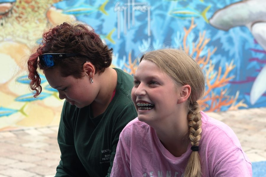 TURTLE+TALK%3A+Maritime+Academy+students+visited+the+Loggerhead+Marine+Center+in+Jupiter+led+by+Marine+Biology+teacher+Ms.+Rose+to+learn+about+turtles+and+more+Feb.+1.+