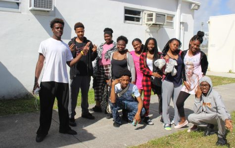 I WOKE UP LIKE THIS: Students dressed out to show their school spirit during Spirit Week, Feb. 12-15. Monday was Pajama Day; Tuesday, Jocks vs. Nerds; Wednesday, Valentine's Day. To finish the week off, Thursday was Throwback and White-Out Day.