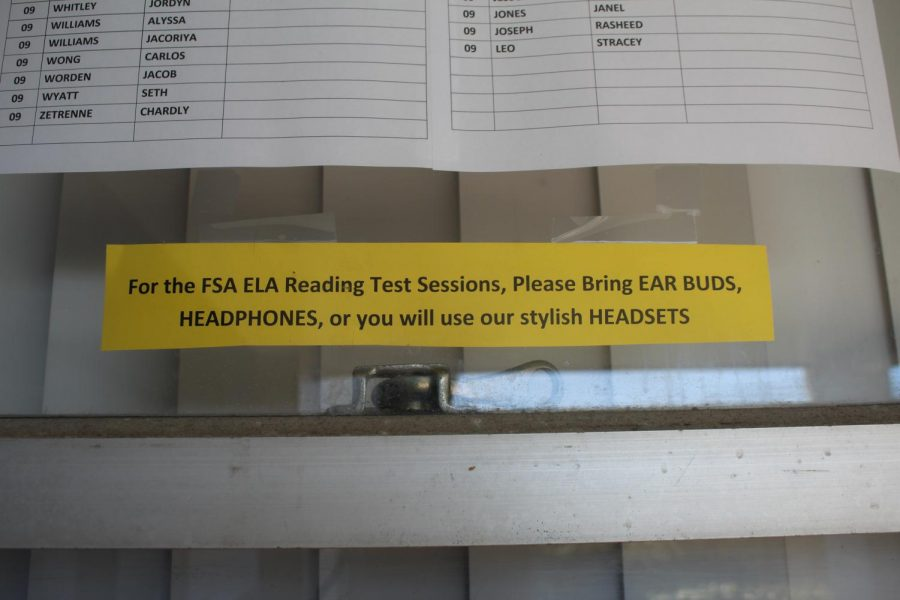 CALLING ALL TESTERS: Testing has started for all ninth and tenth graders.