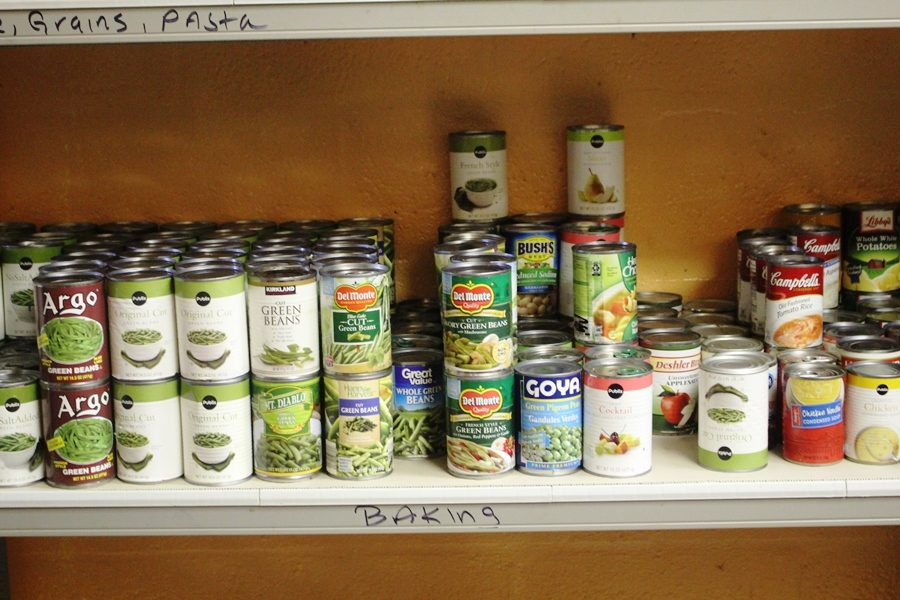CAN WE DO IT? Pun intended, Chef Newman's 1st and 2nd period classes tried to create dishes with different canned goods along with other ingredients.