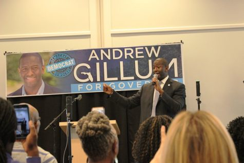 Gillum: 'Let's build a better future'