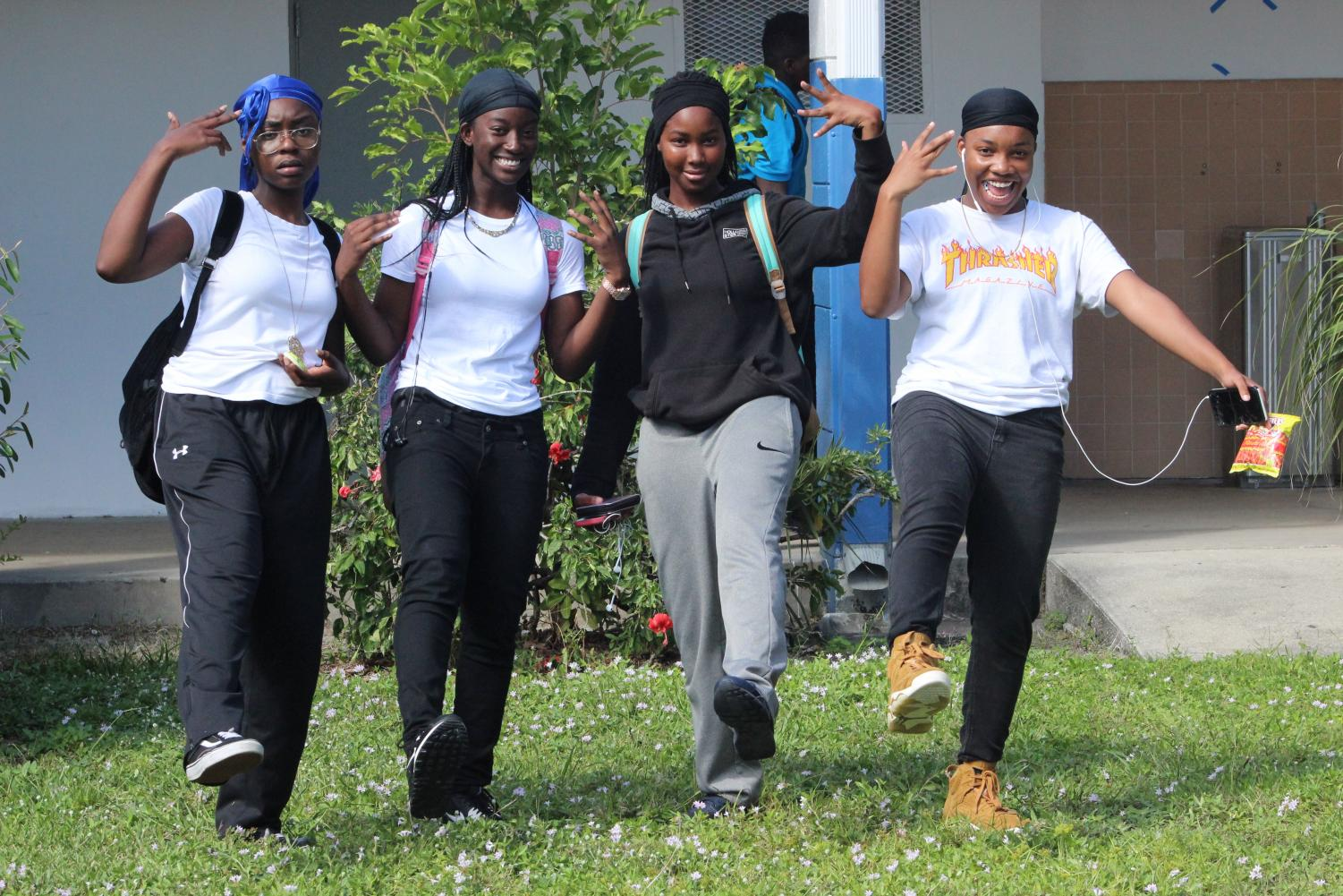 GIRLZ ll MEN: The second day of Spirit Week was initially supposed to be