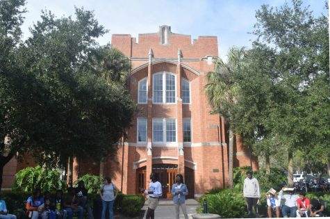 WELCOME TO THE SWAMP: Junior and senior Hurricanes got to experience a tour of the University of Florida campus on Nov. 1 through a college trip that also included tours of Florida State University and Florida Agricultural & Mechanical University.