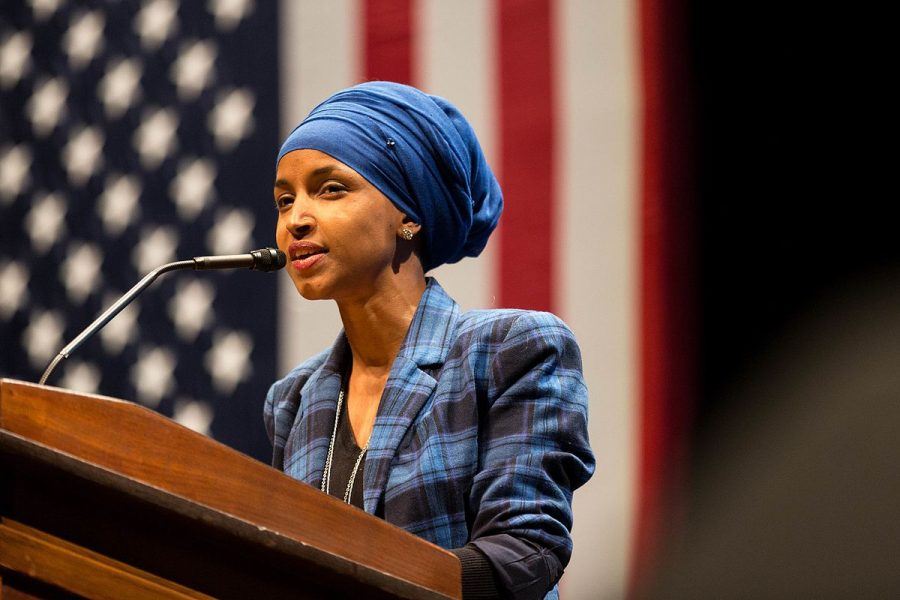 WE+RUN+THE+WORLD%3A+Democratic+candidate+Ilhan+Omar+will+be+one+of+the+two+first+Muslim+women+to+serve+in+Congress+after+winning+for+Minnesota+in+the+midterm+elections+that+took+place+on+Nov.+6%2C+2018.+