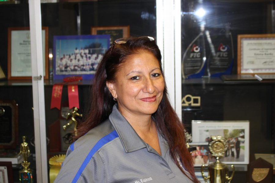 TEACHER OF THE MONTH: Ms. Espinoza won best staff member of the month of November. Espinoza has been working for Inlet Grove High School since August, 2018 when school first started. She said that Inlet Grove made her feel welcomed and was very surprised when she won.