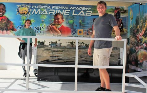 ON THE MOVE: The Florida Fishing  Academy visited with their Mobile Marine Lab.