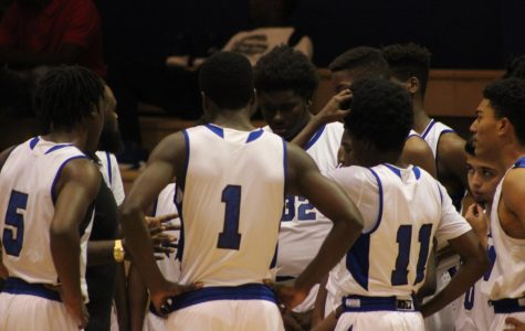 FIGHTING CANES:  Boys JV and Varsity went against Oxbridge Academy at Inlet Grove.