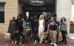 IM FULL: Chef Newman took her certified culinary seniors to lunch at the Yard House on Thursday May, 2.