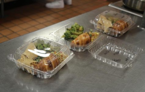 Student chefs, teacher lunches