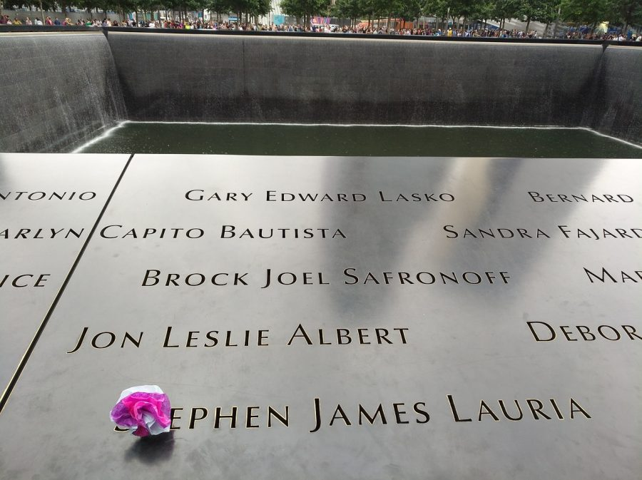 Honored: Located in New York, The National September 11 Memorial   is almost an acre in size and has the names of the 2,977 people who died in the 9/11 attack, inscribed in bronze.