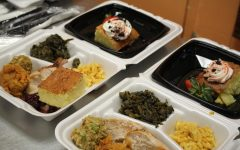 Photo of the Day: Thanksgiving feast, teachers treat