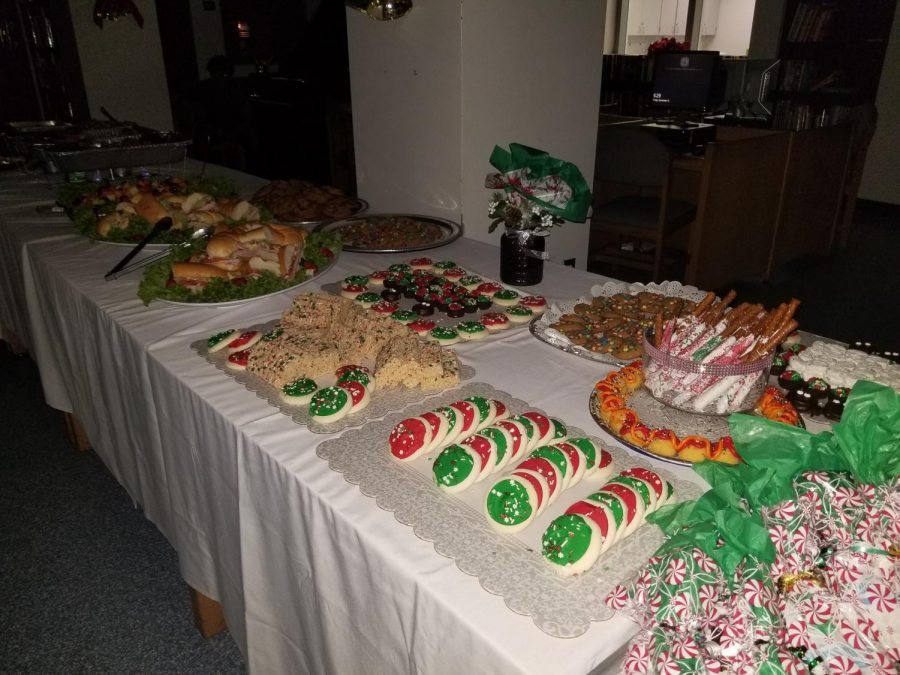 A+LAVISH+DINNER+%3A+First+priority+had+a+Christmas+party+on+Dec.+15+to+enjoy+themselves+and+to++celebrate+the+holiday+of+Christmas.+Ms.+Pientka+said%2C+%22It+looks+fantastic%21+Great+sponsors+to+have+a+celebration+with+the+students%21+They+need+to+do+things+like+this%3B+boost+their+spirits%21%22.