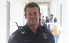 PROTECT AND SERVE: School police officer, Ryan Strahan, reflects on his life along with the trials and tribulations he endured to get where he is now.