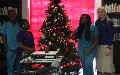 Youth singing praises