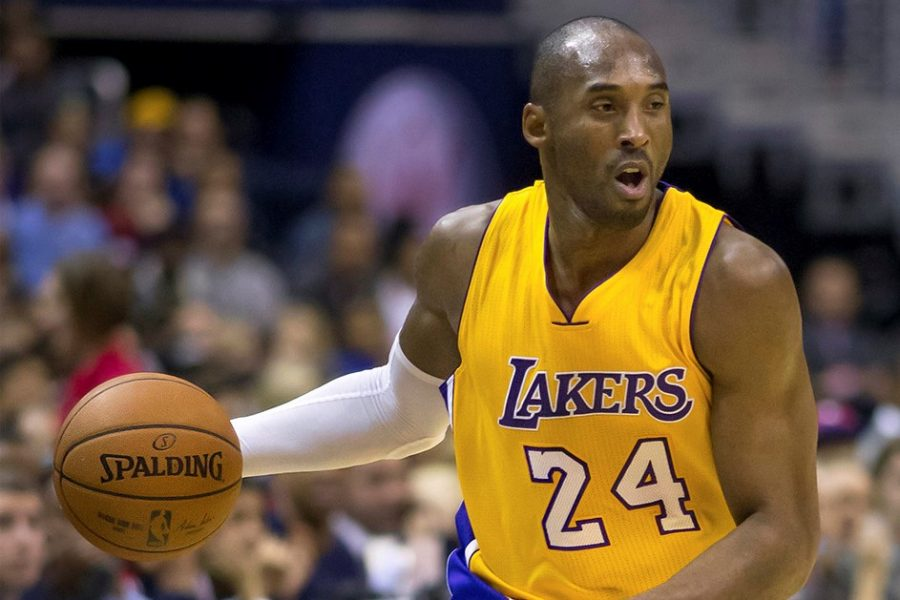 BASKETBALL CHAMPION: Kobe Bryant was a famous basketball player who led the Los Angeles Lakers to five championships. He lost his life on Jan. 26 in a fatal helicopter crash. He was a husband and a father to four daughters (one of which died in the helicopter crash as well).